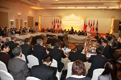 The ASEAN Economic Community Council Meeting earlier this year