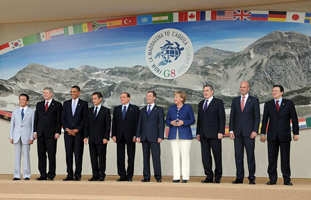 G8 leaders Italy 09 small