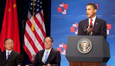 President Obama at the 1st U.S.-China Strategic and Economic Dialogue (Photo: Whitehouse.gov/Chuck Kennedy)