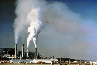 Factory pollution (photo: National Parks Service)