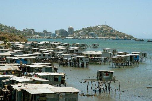Port Moresby, the capital of Papua New Guinea (Photo: AFP)