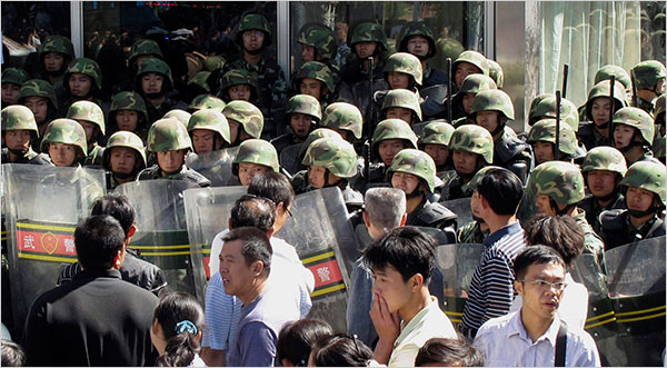 Is Chinese stability at risk without giving people more of a voice?