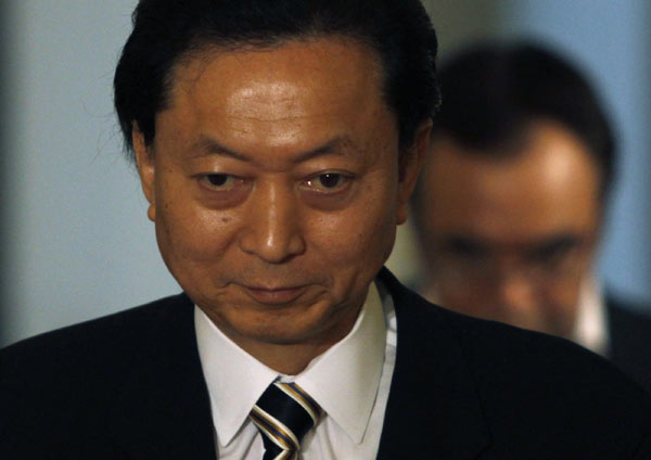 Japanese PM Hatoyama has announced he plans to resign (Xinhua/Reuters Photo)