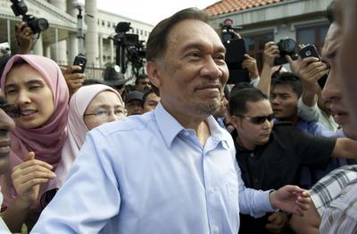 Malaysia's prime minister loses most from Anwar trial