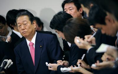 Ozawa's departure, the revival of the DPJ and the future of Japan