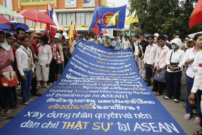 ASEAN's democracy deficit and the protection of human rights