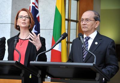 AUSTRALIA-MYANMAR-DIPLOMACY