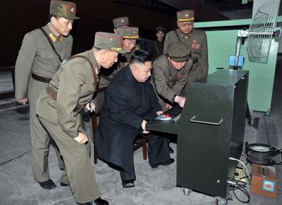 Kim Jong-un inspects North Korean Army Unit 1501 at an undisclosed location in North Korea, 24 March 2013. (Photo: AAP)