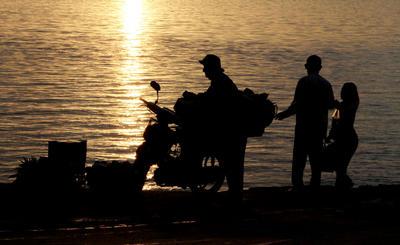 APTOPIX Cambodia Daily Life