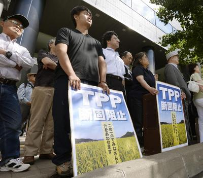 Will Japan's farmers support the LDP at the election?