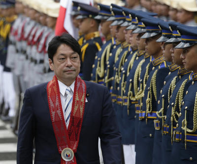 Japan aid to the Philippines a warning to China