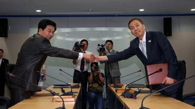 NORTH KOREA SOUTH KOREA DIALOGUE