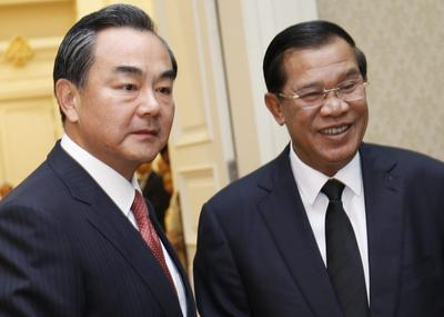 Why China charms Cambodia