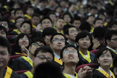 Who is to blame for the worst graduate job market in China's history?