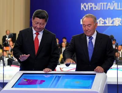 China goes west, to Kazakhstan's benefit