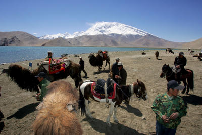 Central Asia's new silk road, paved by China