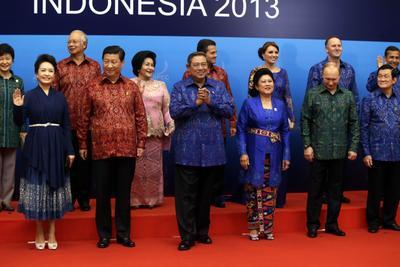 (1st row) China