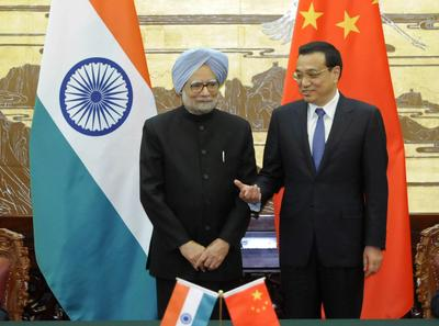 The politics of self-interest bind India and China together