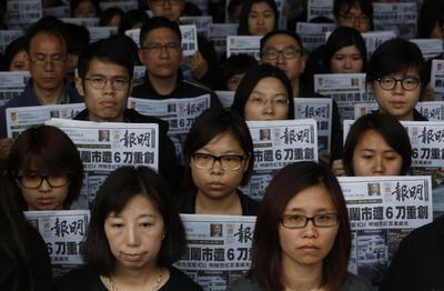 Hong Kong press freedom under attack
