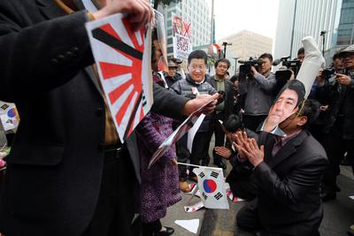 Comfort women issue is a global human rights problem