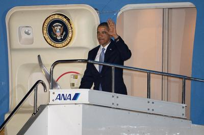 Obama visits a troubled East Asia