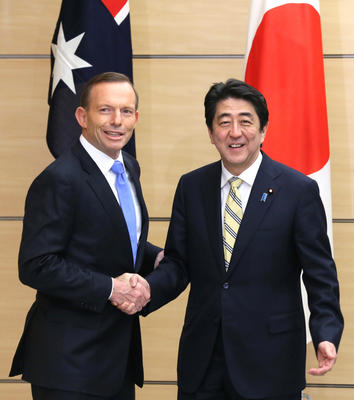 Japan and Australia 'beef up' relations
