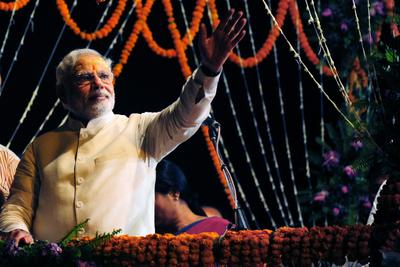 Modi's sweeping victory in India