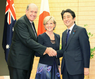 Shinzo Abe's Australia visit and stability in Asia