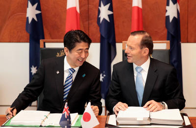 Australia, Japan make history by moving on from it