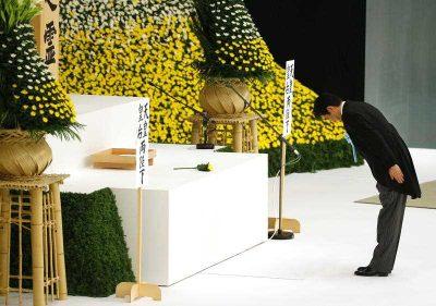 Shinzo Abe statement WWII