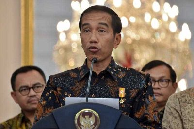 Indonesian President Joko Widodo on 10 September 2015 unveiled a series of stimulus measures to lift slowing growth in Southeast Asia's top economy and shore up the country's plunging currency. (Photo: AAP)