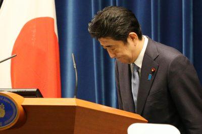 Abe cites apology, aggression