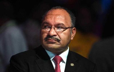 Papua New Guinea's Prime Minister Peter O'Neill at the official opening of the Pacific Islands Forum in Port Moresby, Papua New Guinea, 8 September 2015. (Photo: AAP)