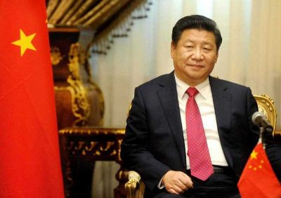 Chinese President Xi Jinping visits the parliament in Cairo, Egypt on 21 January 2016. (Photo: AAP).
