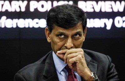 Raghuram Rajan, Governor of the Reserve Bank of India during the sixth bi-monthly monetary policy review 2015–16, Mumbai, India. (Photo: AAP)
