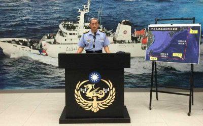 Yao Chow-tien, deputy director of the Taiwan Maritime Patrol Directorate General. (Photo: AAP)