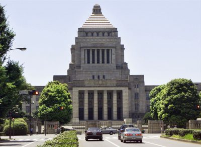 An exterior view of the Japanese Diet building in Tokyo. (Photo: Reuters).