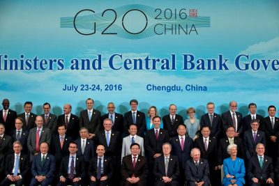 G20 Finance Ministers and Central Bank Governors  group photo in Chengdu, China. (Photo: Reuters)