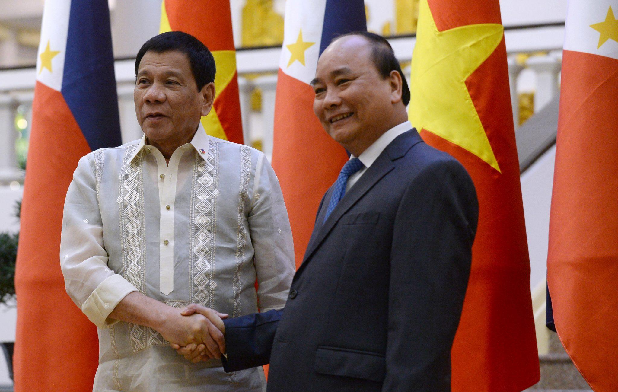 What's happened to the Philippines–Vietnam strategic partnership?