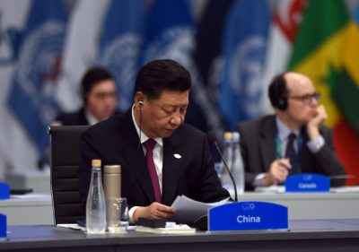China's President Xi Jinping attends the plenary session at the G20 leaders summit in Buenos Aires, Argentina, 1 December 2018 (Photo: G20 Reuters/Argentina/Handout).