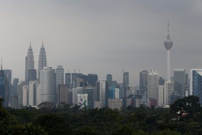 A view of the Kuala Lumpur city skyline in Malaysia, 7 February 2018 (Photo: Reuters/Lai Seng Sin).