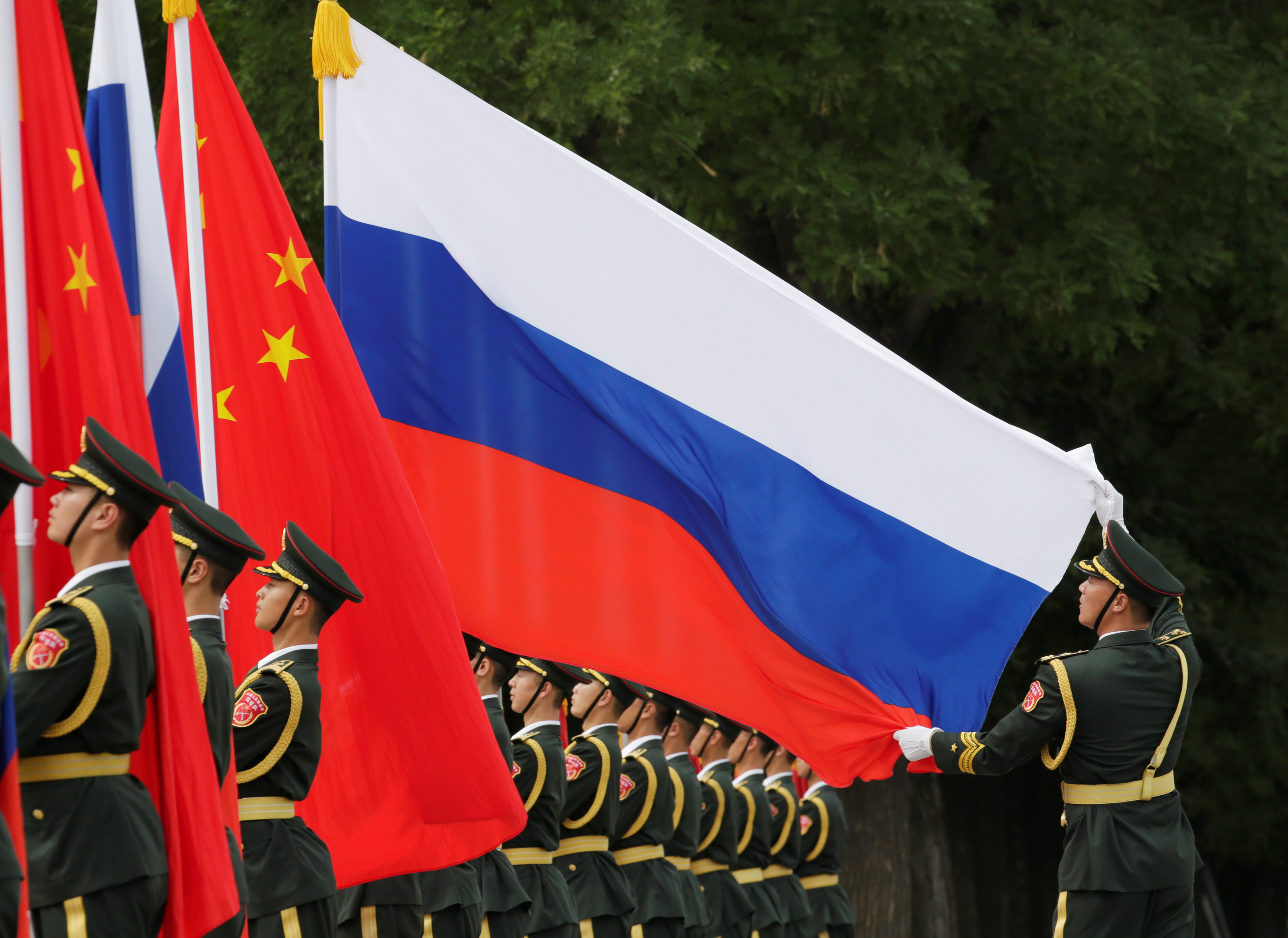 China, Russia and the United States contest a new world order