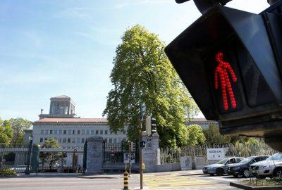 Headquarters of the World Trade Organization (WTO), Geneva, Switzerland (Photo: Reuters/Denis Balibouse).