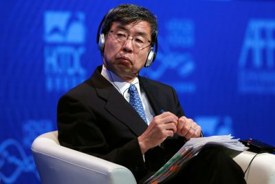Asian Development Bank President Takehiko Nakao attends the Asian Financial Forum in Hong Kong, China, 15 January 2018.      REUTERS/Bobby Yip