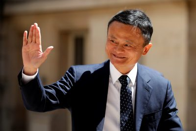 Alibaba Group chairman Jack Ma: leading 'massive markets in social media and social commerce' (Photo: Charles Platiau/Reuters).
