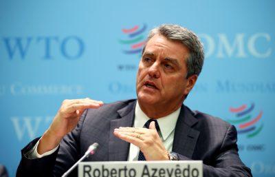 O diretor-geral da Organização Mundial do Comércio (OMC), Roberto Azevedo.