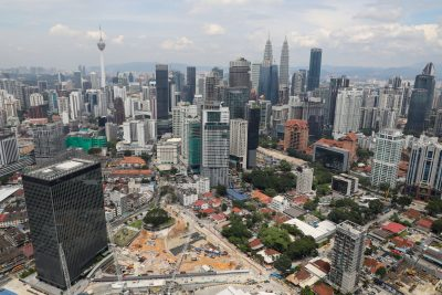 A view of the city skyline in Kuala Lumpur, Malaysia, 23 October 2019 (Photo:Reuters/ Lim Huey Teng).