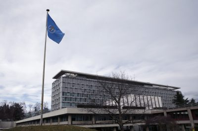 View of the World Health Organization (WHO) headquarters in Geneva, Switzerland, 1 February 2016 (Photo: REUTERS/Denis Balibouse).