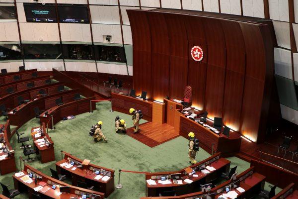 The end of Hong Kong autonomy