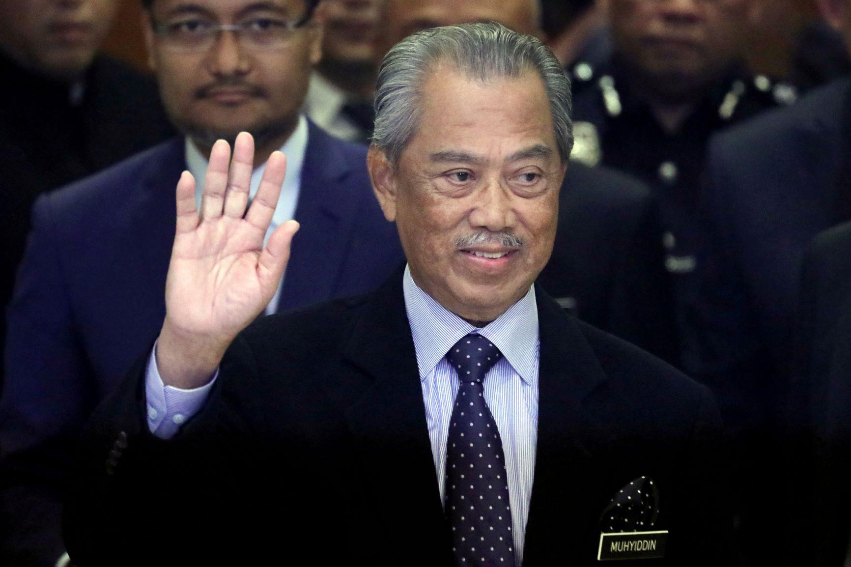 Muhyiddin - Malaysian Prime Minister Muhyiddin Yassin ...